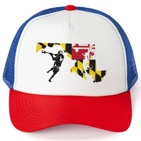 Guys Lacrosse Trucker Hat MD Lax Guys