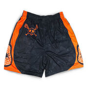 Never Stop Laxing Halloween Lacrosse Shorts