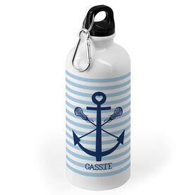 Girls Lacrosse 20 oz. Stainless Steel Water Bottle - Lacrosse Sticks Anchor