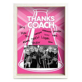 Cheerleading Premier Frame - Thanks Coach