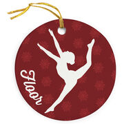 Gymnastics Porcelain Ornament Floor