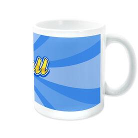 Softball Coffee Mug Varsity Rays