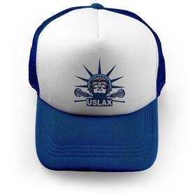 Girls Lacrosse Trucker Hat - Lady Lax