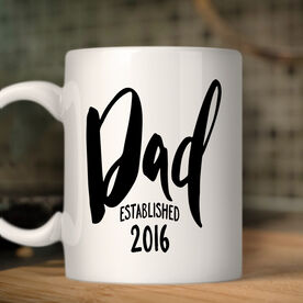 Dad Established Personalized Coffee Mug