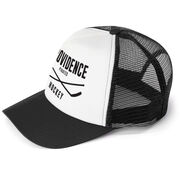 Hockey Trucker Hat - Team Name With Text