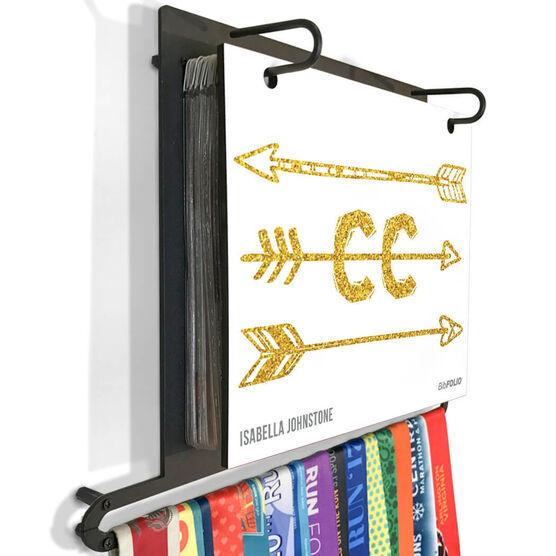 BibFOLIO+™ Race Bib and Medal Display - Arrows