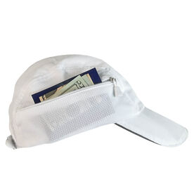 Ultra Pocket Hat for Runners - White