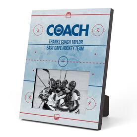 Hockey Photo Frame - Coach (Rink)