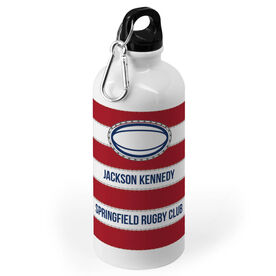 Rugby 20 oz. Stainless Steel Water Bottle - Ball Stripes