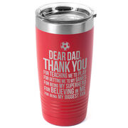 Soccer 20 oz. Double Insulated Tumbler - Dear Dad