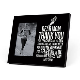 Track and Field Photo Frame - Dear Mom