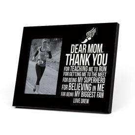 Track and Field Photo Frame - Dear Mom