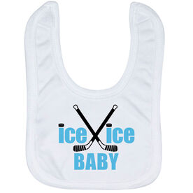 Hockey Baby Bib - Ice Ice Baby
