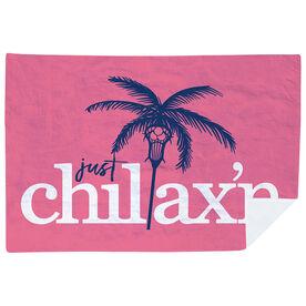 Lacrosse Premium Blanket - Just Chillax'n