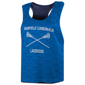 Girls Lacrosse Racerback Pinnie - Custom Lacrosse Sticks