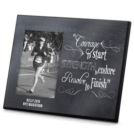 Running Photo Frame Chalkboard Courage To Start