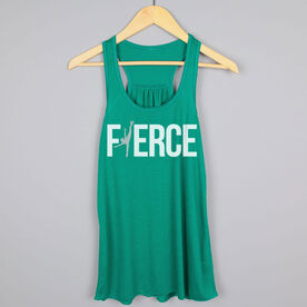 Figure Skating Flowy Racerback Tank Top - Fierce Figure Skater