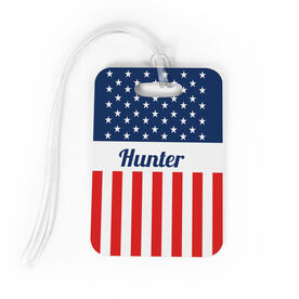 Personalized Bag/Luggage Tag - A Flag For You