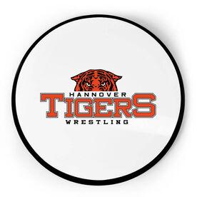 Wrestling Circle Plaque - Custom Logo