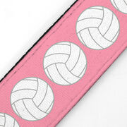Volleyball Juliband No-Slip Headband - Volleyball Stripe Pattern