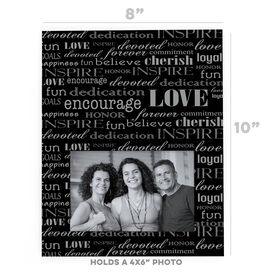 General Sports Photo Frame - Inspire (Vertical)