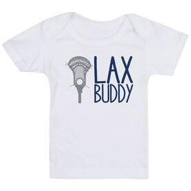 Guys Lacrosse Baby T-Shirt - Lax Buddy