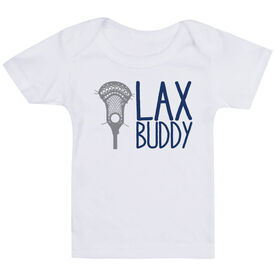 Guys Lacrosse Baby T-Shirt - Lax Buddy