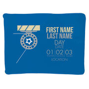 Fly Fishing Baby Blanket - Birth Announcement
