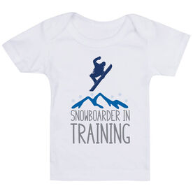 Snowboarding Baby T-Shirt - Snowboarder In Training