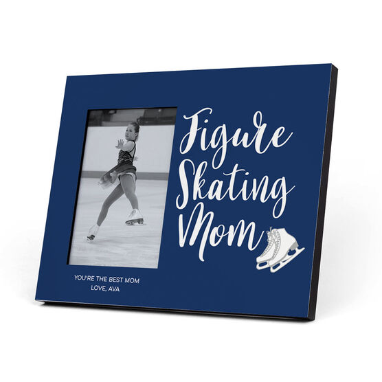 Figure Skating Photo Frame - Figure Skating Mom Script