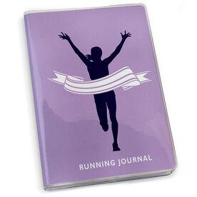 GoneForaRun Running Journal - Female Runner Finish Line
