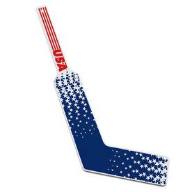 Knee Hockey Goalie Stick USA