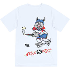 Seams Wild Hockey Short Sleeve Tech Tee - Bobby Ice