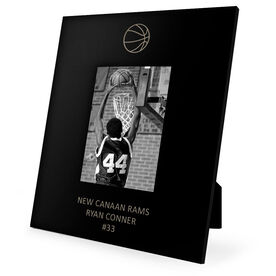 Basketball Engraved Picture Frame - Basketball