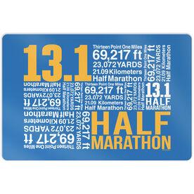 """Running 18"""" X 12"""" Wall Art - 13.1 Math Miles"""