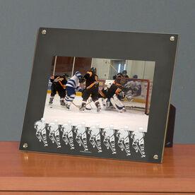 Hockey Photo Display Frame Hockey Player Silhouettes