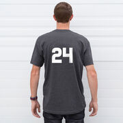 Hockey Short Sleeve T-Shirt - Hockey Is My Favorite Season