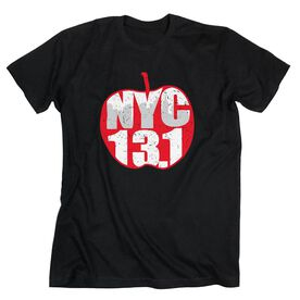 Running Short Sleeve T-Shirt - 13.1 Big Apple Half Marathon (w/o date)