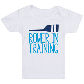 Crew Baby T-Shirt - Rower in Training