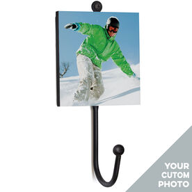Snowboarding Medal Hook - Your photo