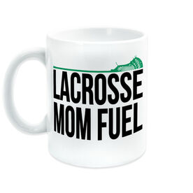 Guys Lacrosse Coffee Mug - Lacrosse Mom Fuel