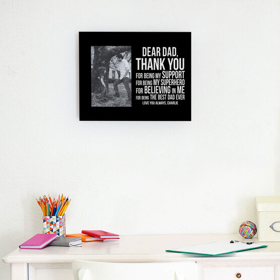 Personalized Photo Frame - Dear Dad