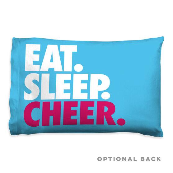 Cheerleading Pillowcase - Eat Sleep Cheer