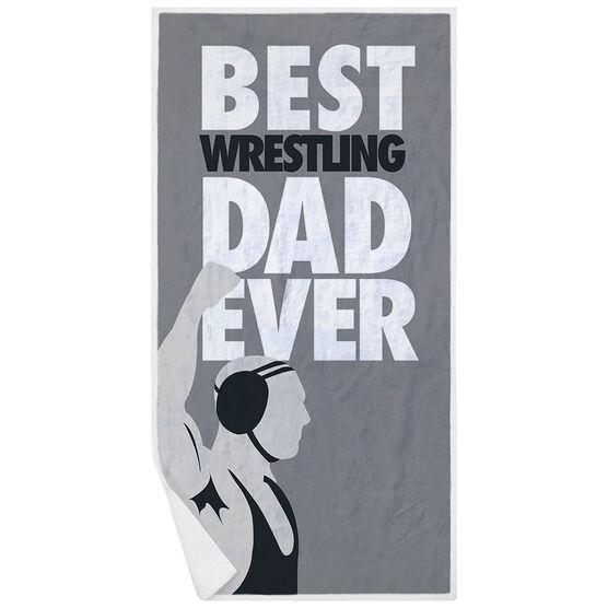 Wrestling Premium Beach Towel - Best Dad Ever