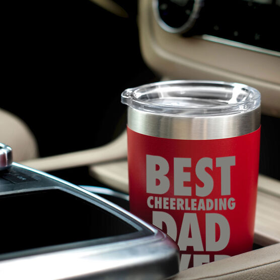 Cheerleading 20 oz. Double Insulated Tumbler - Best Dad Ever