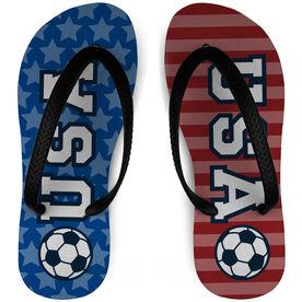 Soccer Flip Flops USA