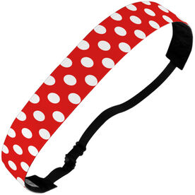 Athletic Julibands No-Slip Headbands - Polka Dots