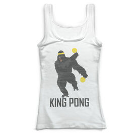 Ping Pong Vintage Fitted Tank Top - King Pong
