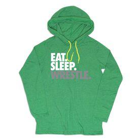 Men's Wrestling Lightweight Hoodie - Eat Sleep Wrestle