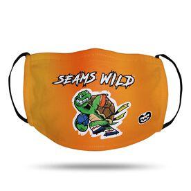 Seams Wild Football Face Mask - Slowyo